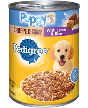 Pedigree® Puppy Complete Nutrition Meaty Ground Dinner with L...
