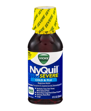 Severe Vicks DayQuil Cold & Flu Relief Liquid 8 fl oz