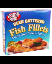 Wf Fish Fillets Beer Battered