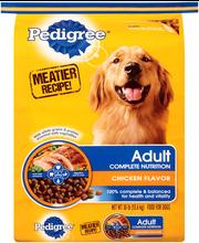 Pedigree® Adult Complete Nutrition Dry Dog Food 30 lb. Bag