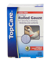 TOPCARE GAUZE ROLL 2X2.5YD