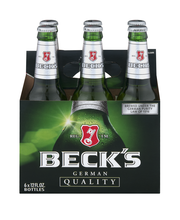 Beck's® Beer, 6 pk 12 fl. oz. Bottles