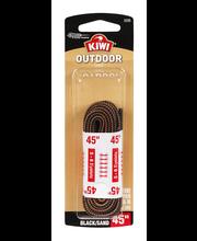 "Kiwi Outdoor Lace Round Black/Sand 45"""