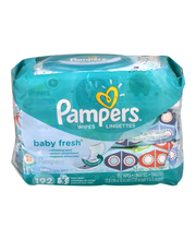 Baby Fresh Pampers Baby Wipes Baby Fresh 3X 192 count