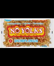 No Yolks® Cholesterol Free Egg White Pasta Dumplings 8 oz. Bag