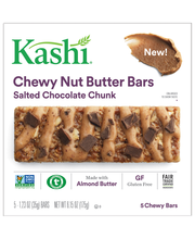 Kashi® Salted Chocolate Chunk Chewy Nut Butter Bars 5-1.23 oz...