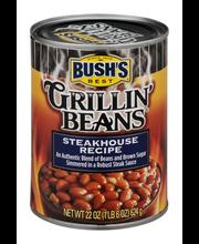 Bush's Best® Steakhouse Recipe Grillin' Beans® 22 oz. Can