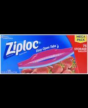 Ziploc® Double Zipper Gallon Storage Bags 75 ct Box