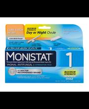 Monistat 1 Vaginal Antifungal 1-Day Maximum Strength Treatmen...