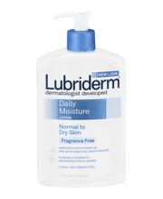 Lubriderm® Normal to Dry Skin Fragrance Free Daily Moisture F...