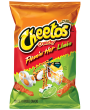 Cheetos® Crunchy Flamin' Hot® Limon Cheese Flavored Snacks 3....
