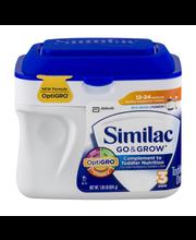 Similac™ Go & Grow® Milk-Based Powder Toddler Drink 1.38 lb. ...