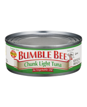 Bumble Bee® Premium Chunk Light Tuna in Vegetable Oil 5 oz. Can