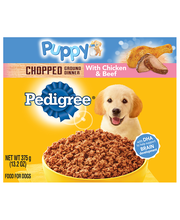 Pedigree® Puppy Complete Nutrition Chicken & Beef Dinner Wet ...