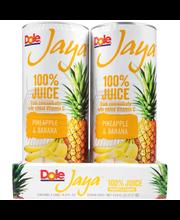 Dole® Jaya™ Pineapple & Banana 100% Juice 4-8.4 fl. oz. Cans
