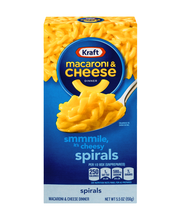 Kraft Spirals Macaroni & Cheese Dinner 5.5 oz. Box