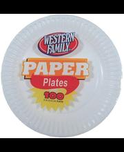 Wf Paper Plates 9*
