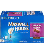 Maxwell House French Roast Coffee K-Cup® Pods 12 ct Box