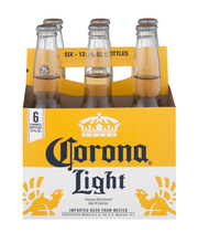 Corona Light Imported Beer Bottles - 6 CT