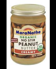 Mara Natha Organic Peanut Butter Creamy