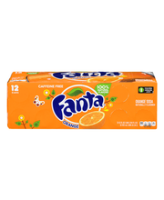 Fanta® Fridge Pack™ Orange Soda 12-12 fl. oz. Cans