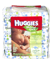 Huggies® Natural Care Baby Wipes 3 ct Packs