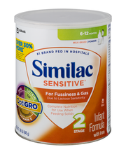 Similac Sensitive® with Iron Birth to 12 Months 1.86 lb. Cani...