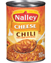 Nalley® Cheese Chili con Carne with Beans 14 oz. Can