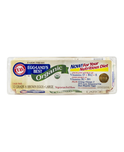 Eggland's Best Organic Cage Free Grade A Brown Eggs Large - 12 CT