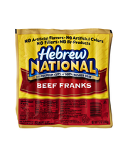 Hebrew National Beef 7 Ct Franks 12 Oz Pack