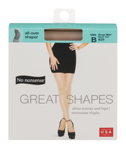 No nonsense Great Shapes Pantyhose All Over Shaper Size B Bei...