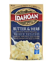 Idahoan® Butter & Herb Mashed Potatoes 4 oz. Pouch