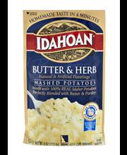 Idahoan® Butter & Herb Mashed Potatoes 4 oz. Pouch