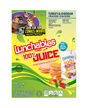 Lunchables Turkey & Cheddar Cracker Stackers Lunch Combinatio...