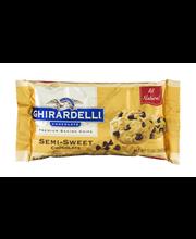 Ghirardelli Chocolate® Semi-Sweet Chocolate Premium Baking Ch...