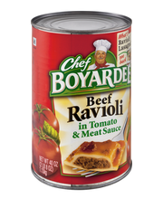 Chef Boyardee® Beef Ravioli in Tomato & Meat Sauce 40 oz. Can