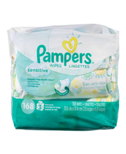 Sensitive Pampers Baby Wipes Sensitive 3X 168 count