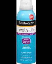 Neutrogena® Wet Skin Spray Broad Spectrum SPF 85+ Sunscreen 5...