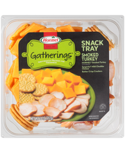 Hormel® Gatherings™ Smoked Turkey Snack Tray 14 oz. Container