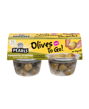 Pearls® Pimiento Stuffed Spanish Green Olives 4-1.6 oz. Cup