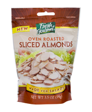 Fresh Gourmet® Oven Roasted Sliced Almonds 3.5 oz. Pouch