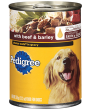 Pedigree Choice Cuts In Gravy W/Beef & Barley Wet Dog Food 13...