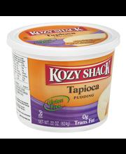 Kozy Shack® Original Recipe Tapioca Pudding 22 oz. Tub