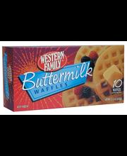 Wf Buttermilk Waffles 10Ct