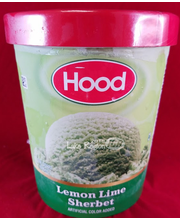 HOOD LEMON LIME SHERBERT 32oz