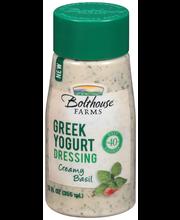 Bolthouse Farms® Creamy Basil Greek Yogurt Dressing 12 fl. oz...