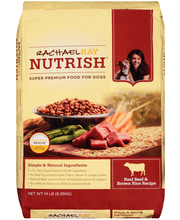 Rachael Ray Nutrish® Real Beef & Brown Rice Recipe Super Prem...