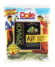 Dole All Natural Distinctively Dole Spinach Kit Cherry Almond...