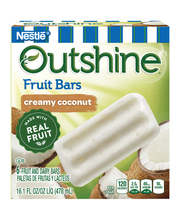 Outshine Creamy Coconut Frozen Fruit Bars 6 Pack