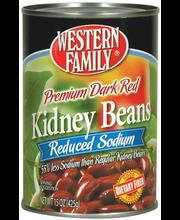 Wf Ls Red Kidney Dk Bns